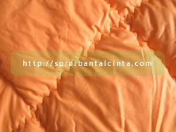 Bedcover Orange