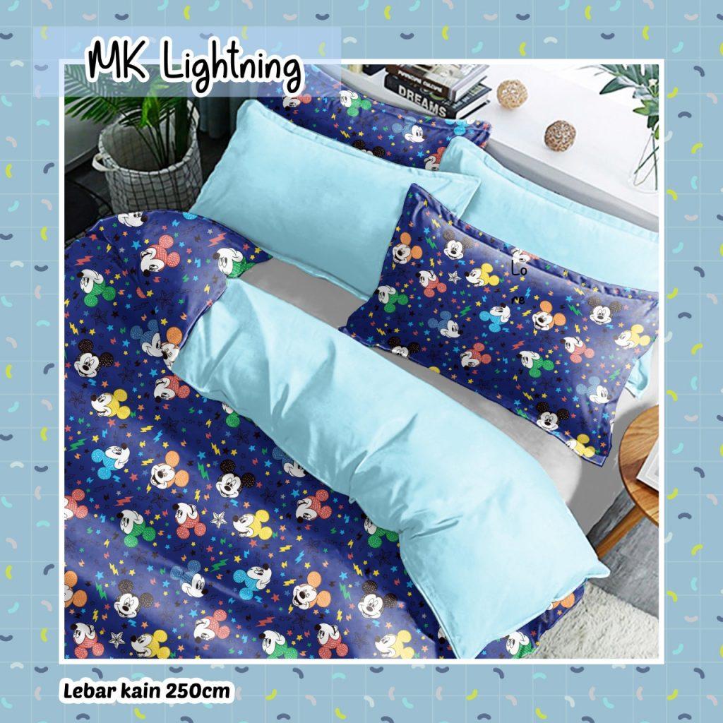 sprei-Bedcover-star-mk-lightning-biru