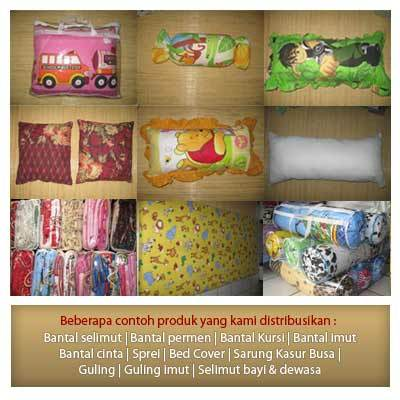 Kami adalah Distributor,Supplier Grosir Online Bedcover, Sprei, Gordyn, Sarung Bantal, Sarung Aqua Galon &amp; Sarung Kulkas, Selimut,Handuk yang berdomisili di Bogor, Jawa Barat. Sampai saat ini kami sudah mendistribusikan berbagai...