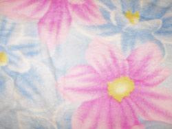 Selimut Ekslusif Bunga Pink Biru Pastel (code:SE-6) Rp.140.000