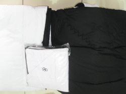 Sprei & bedcover hitam putih
