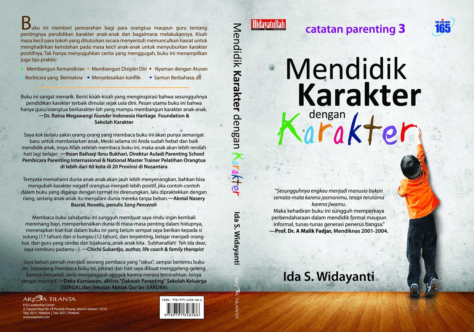 Buku Pendidikan Karakter, Buku Mendidik Anak, Buku Pendidikan Anak