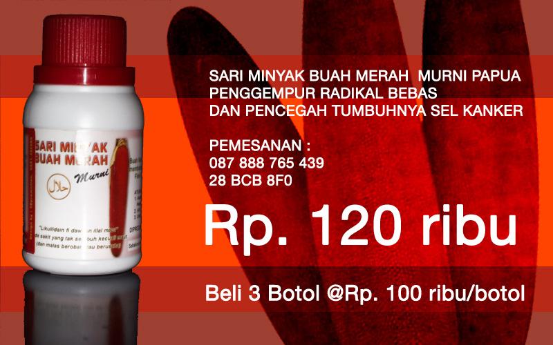 Jual Sari Buah Merah, Minyak Sari Buah Merah Papua, Buah Merah Papua