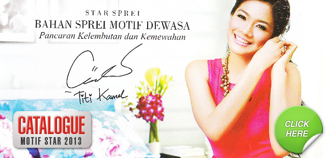 Motif Sprei & Bedcover Star 2013 – Pesan 08176476475