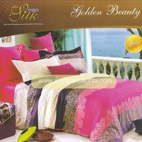 Motif Sprei Star Golden Beauty