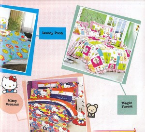 Grosir Sprei Bintang Kecil Kitty Dream Honey Pooh