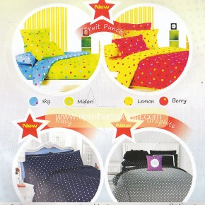 Jual Sprei Star Fruit Punch Dottie