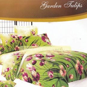 Sprei Star Motif Garden Tulips, Sprei Bunga