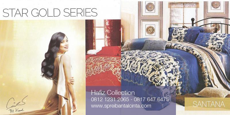 Bedcover-Sprei-Star-Gold-Series-Santana - 081212312065