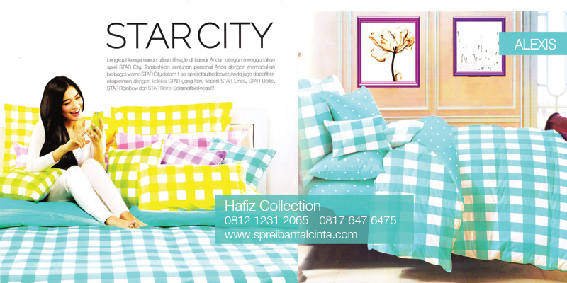 Bedcover-Star-City,-Sprei-Star-City,-Katalog-Sprei