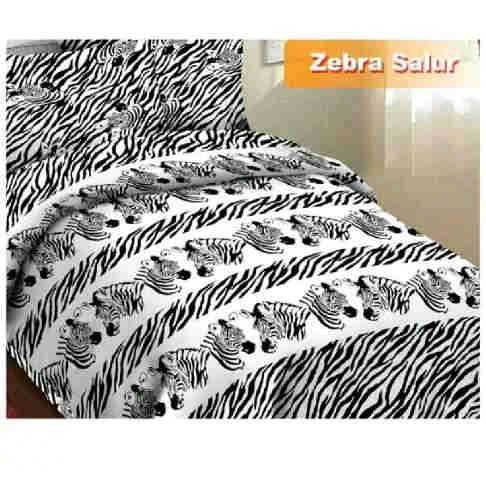 Jual Sprei Murah Zebra fortuna salur