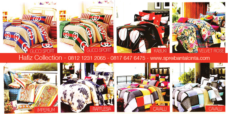 Jual-Sprei-Star-Bogor,-Gucci-Sport,-Imperium,-Raflesia,-Kabuki,-Velvet-Rose,-Cavalli,-All-New-2014-Collection - 081212312065