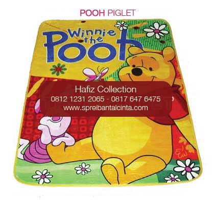 Karpet Selimut Kartun - Grosir karpet selimut - pooh piglet - Grosir Karpet Bulu - Jual Selimut Karpet -Motif Kartun - Bogor - 0812 1231 2065 (2)