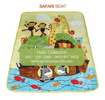 Karpet Selimut Murah Bogor - Grosir Karpet Selimut - Toko Karpet Selimut - kapal safari - Motif Kartun - Bogor - 0812 1231 2065 (2)