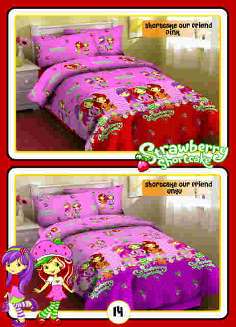 Motif Sprei Shortcake our fortuna