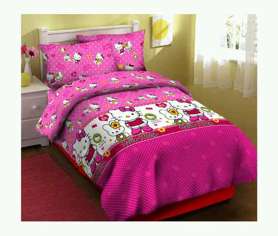 Sprei Hello Kitty fortuna