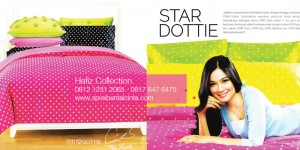 Jual Sprei di Cipadu, Toko Bedcover Murah di Bogor, Sprei Star Dottie,-Katalog-Sprei-Star-2014