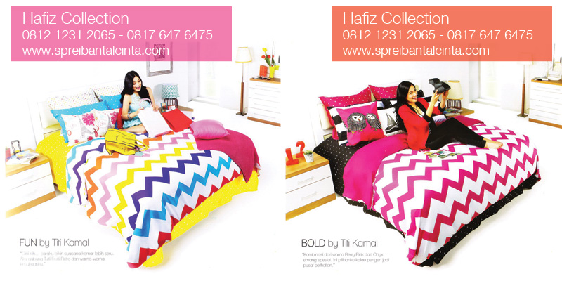 Sprei-Star-Fun-Titi-Kamal