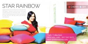 Grosir Sprei Rainbow, Grosir Sprei Polos, Sprei-Star-Rainbow---Sprei-Polos-Star---Sprei-Pelangi-Star