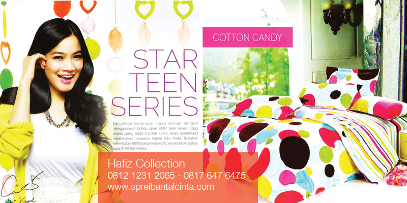 Sprei-Star-Teens-Series---Bedcover-Cotton-Candy