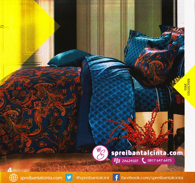35. sprei-motif-batik,-sprei-batik,-bedcover-motif-batik,-bedcover-corak-warna-biru