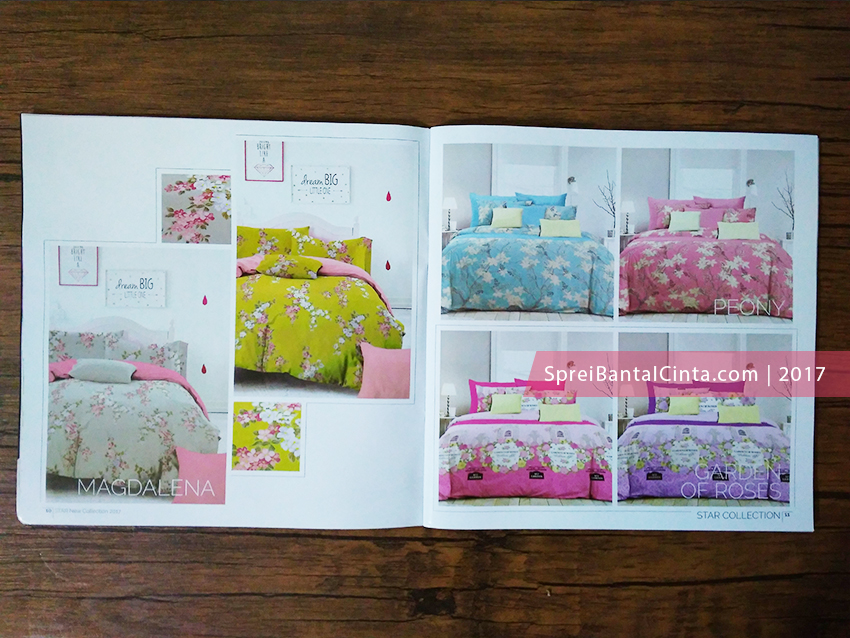 Katalog Sprei Star 2017, bed cover, harga bedcover Murah, bed cover murah di tanah abang, bedcover katun, Grosir Sprei Tanah Abang,