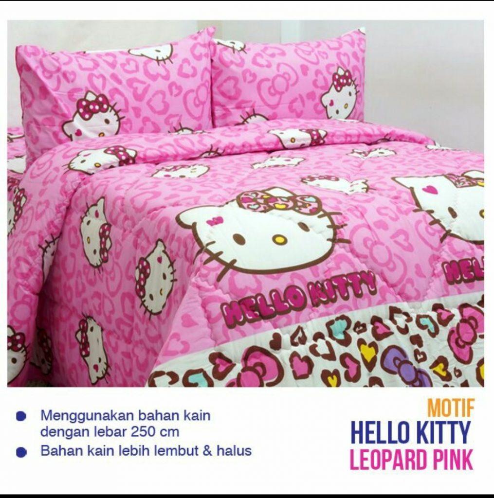 sprei-Bedcover-esra-hk-leopard-pink