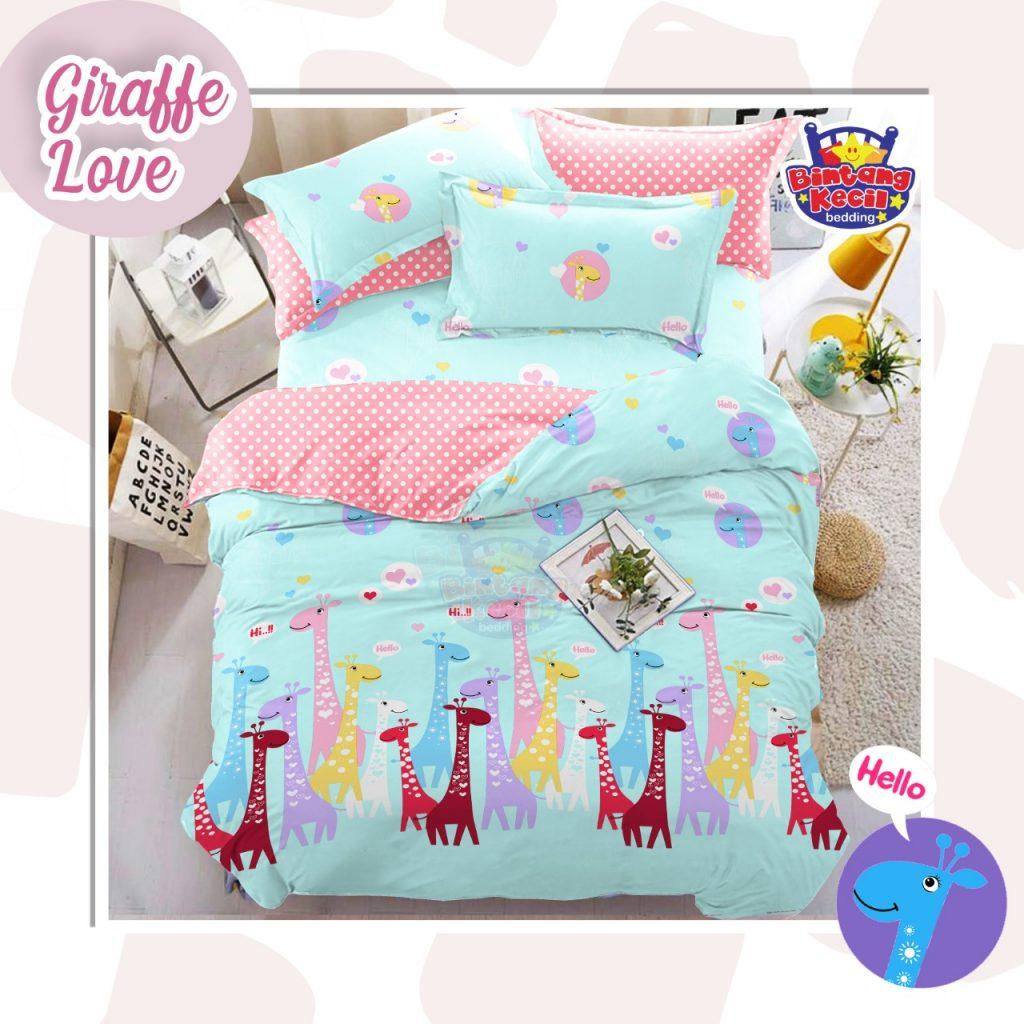 sprei-Bedcover-star-giraffe-love-toska