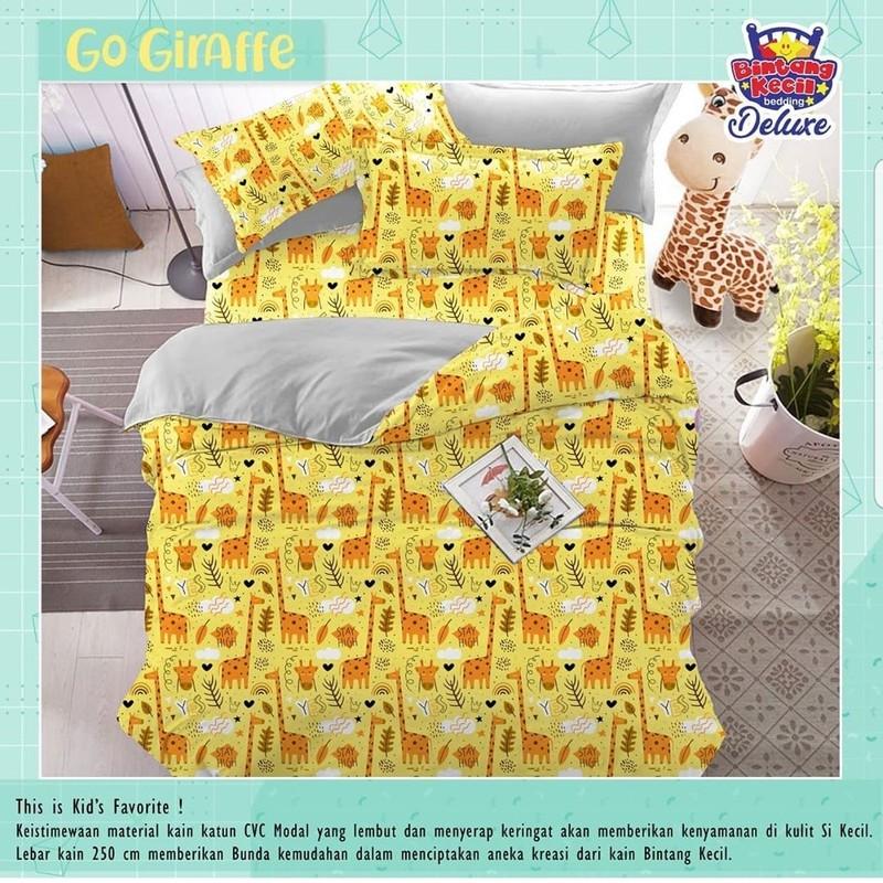 sprei-Bedcover-star-go-giraffe-kuning