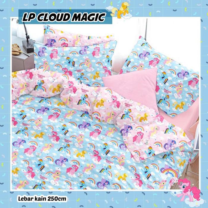 sprei-Bedcover-star-lp-cloud-magic-biru