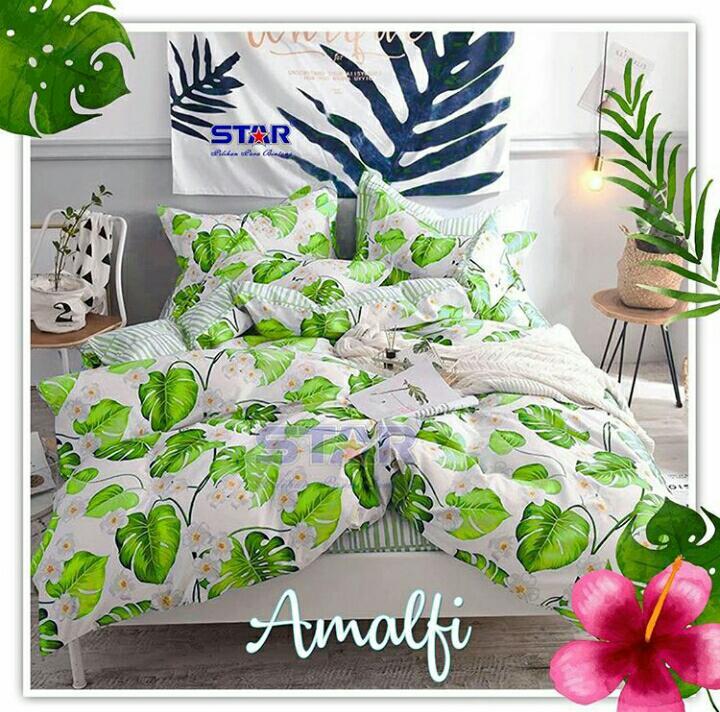 Sprei-bedcover-amalfi-hijau-muda