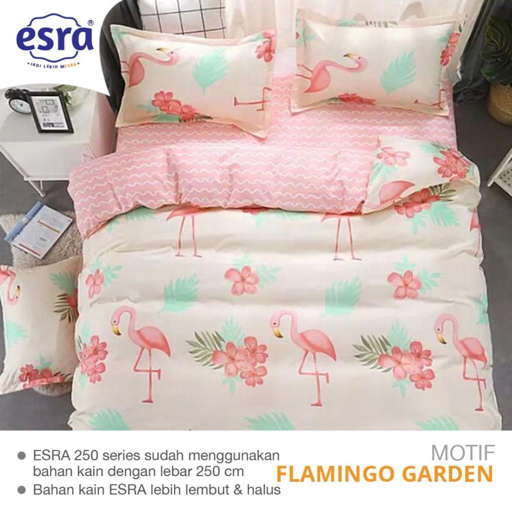sprei-bedcover-esra-flamingo-garden