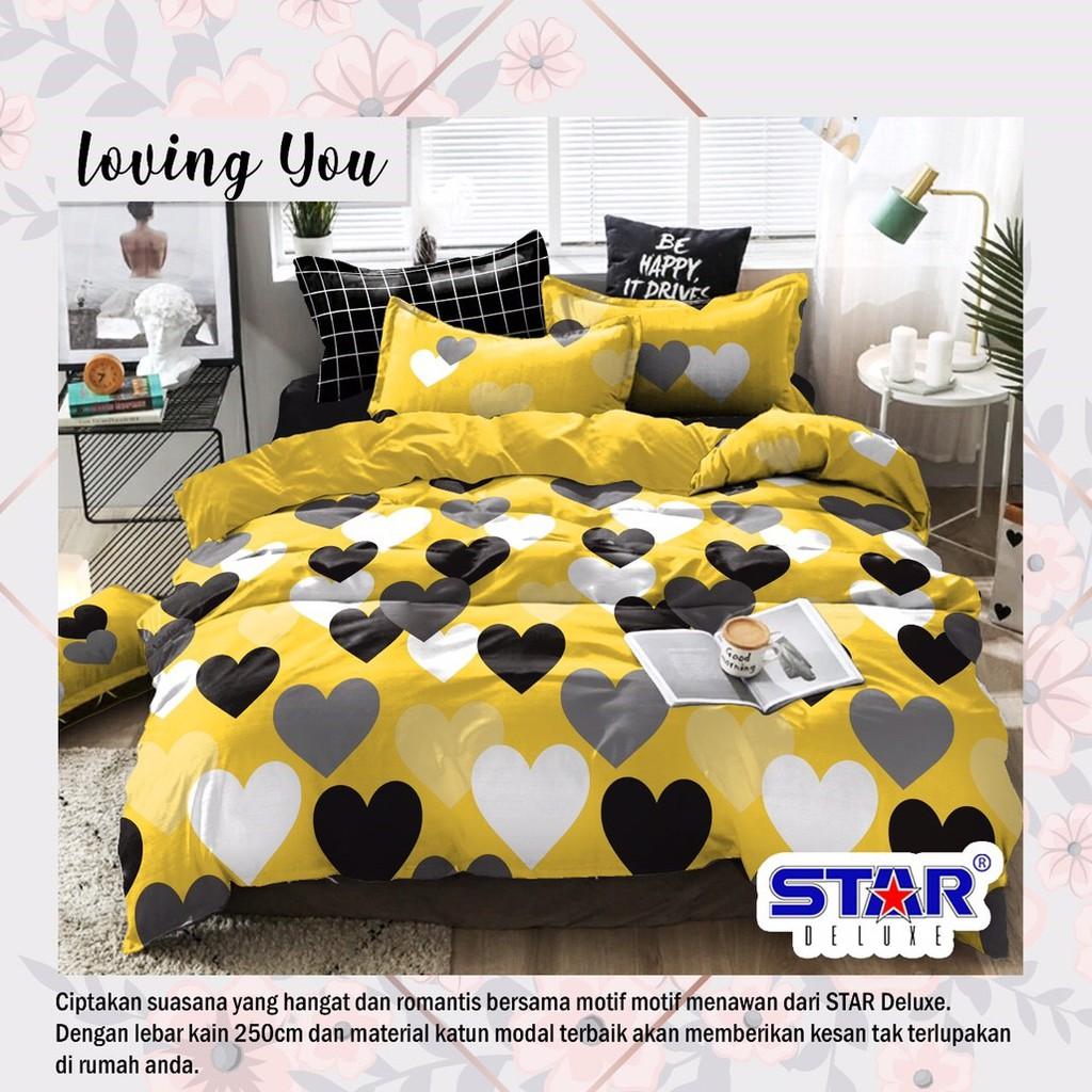sprei-bedcover-star-loving-you