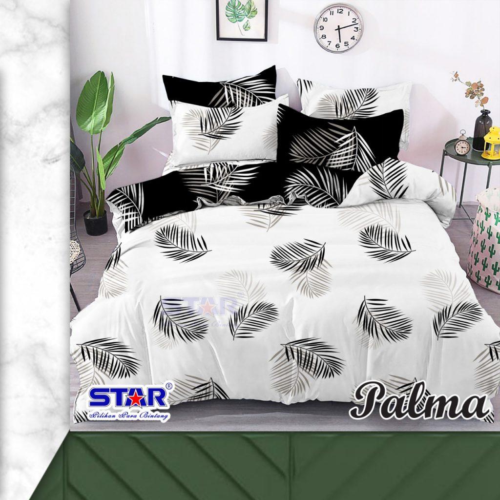 sprei-bedcover-star-palma-putih
