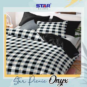 sprei-bedcover-star-picnic-onyx